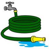 Tubo flessibile dell'acqua Immagine Stock
