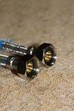 Tubo flessibile tricottato Fotografie Stock