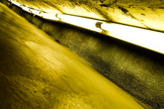 Tubo fluorescente immagine stock