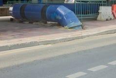 Tubo grande del metal foto de archivo