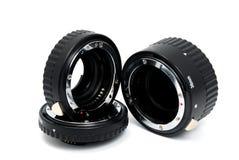 Tubo a macroistruzione di estensione dell'anello Fotografia Stock Libera da Diritti
