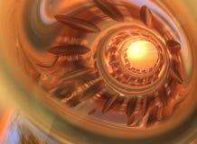 Tubo metálico stock de ilustración