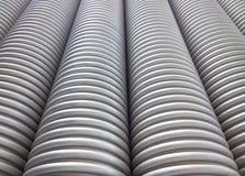 Tubo ondulato dell'impianto idraulico Fotografia Stock Libera da Diritti