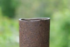 Tubo oxidado Imagen de archivo