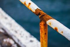 Tubo oxidado Imagenes de archivo