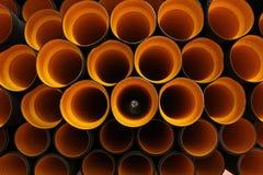 Tubo plástico Fotos de archivo libres de regalías