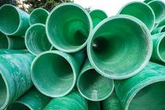 Tubo plástico industrial Foto de archivo