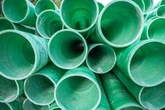 Tubo plástico industrial Imágenes de archivo libres de regalías