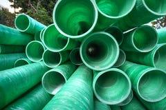 Tubo plástico industrial Imagenes de archivo