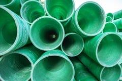 Tubo plástico industrial Fotos de archivo