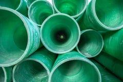 Tubo plástico industrial Imagen de archivo libre de regalías