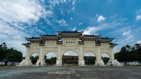 Tubo principal de Liberty Square de Chiang Kai-Shek Memorial Hall en Taipei, Taiwán almacen de video