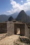 Tubo principal de Machu Picchu Imagen de archivo libre de regalías