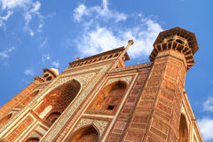 Tubo principal de Taj Mahal Fotos de archivo