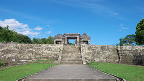 Tubo principal del palacio del boko del ratu Fotografía de archivo libre de regalías
