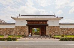 Tubo principale del castello di Tanabe in Maizuru, Giappone Fotografie Stock