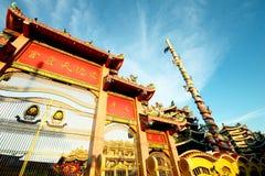 Tubo principale del tempiale cinese, Tailandia fotografia stock