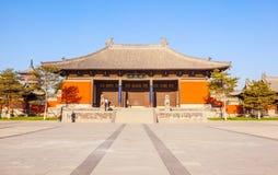 Tubo principale del tempio del ` s Huayan di Datong Immagine Stock Libera da Diritti