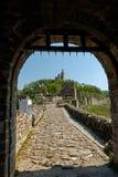 Tubo principale della fortezza di Tsarevets, Veliko Tarnovo Fotografie Stock Libere da Diritti