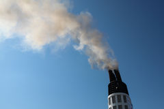 Tubo que fuma Imagen de archivo