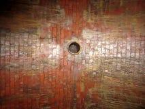 Tubo redondo de los ladrillos de Art Architecture Imagen de archivo libre de regalías