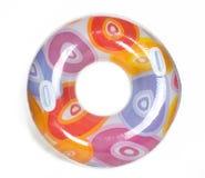 Tubo redondo inflable de la piscina Fotos de archivo