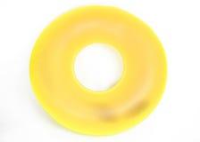 Tubo redondo inflable de la piscina Imagenes de archivo