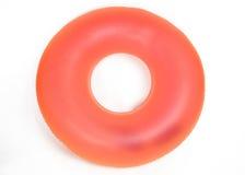 Tubo redondo inflable de la piscina Imagen de archivo libre de regalías