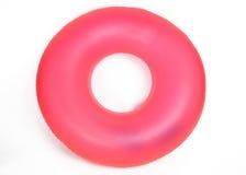 Tubo redondo inflable de la piscina Fotografía de archivo libre de regalías