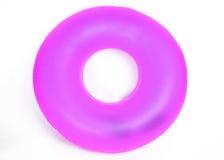 Tubo redondo inflable de la piscina Fotos de archivo libres de regalías