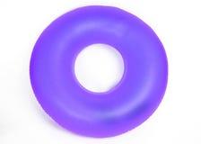 Tubo redondo inflable de la piscina Imágenes de archivo libres de regalías