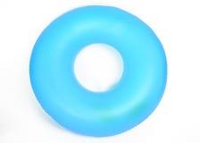 Tubo redondo inflable de la piscina Fotografía de archivo