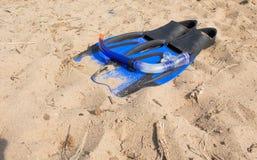 Tubo respirador de la natación Imagen de archivo libre de regalías