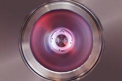 Tubo rojo del laser Imagen de archivo libre de regalías