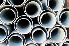 Tubo rotondo del PVC Immagini Stock Libere da Diritti