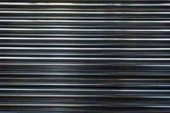 Tubo rotondo inossidabile dell'allineamento Immagini Stock Libere da Diritti