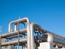 Tubo y sistema del aire acondicionado Fotografía de archivo libre de regalías