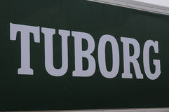 TUBORG BEER Stock Image