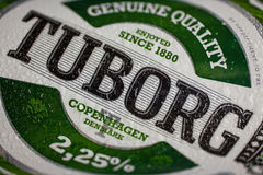 Tuborg Beer Logo Royalty Free Stock Photos