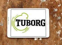 Tuborg beer logo Stock Photos