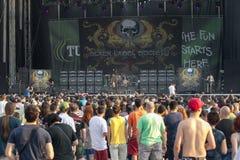 Tuborg Fest verde Fotografia de Stock