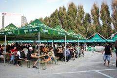 Tuborg Fest vert Photo stock