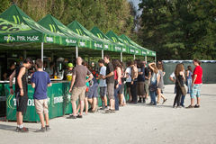 Tuborg Green Fest Stock Photo