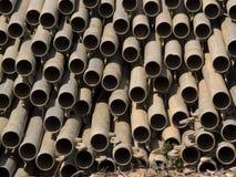 Tubos 2 del metal Imagenes de archivo
