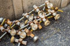 Tubos abandonados Imagenes de archivo