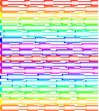 Tubos coloridos Imagem de Stock