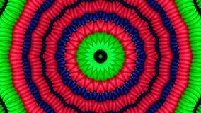 Tubos coloridos en la forma del círculos libre illustration