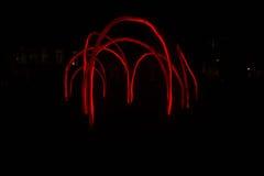 Tubos das luzes vermelhas imagem de stock
