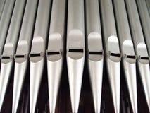 tubos de órgano imagenes de archivo