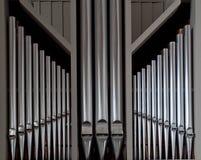 Tubos de órgano Fotos de archivo